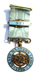 Grand Masters Lodge jewel